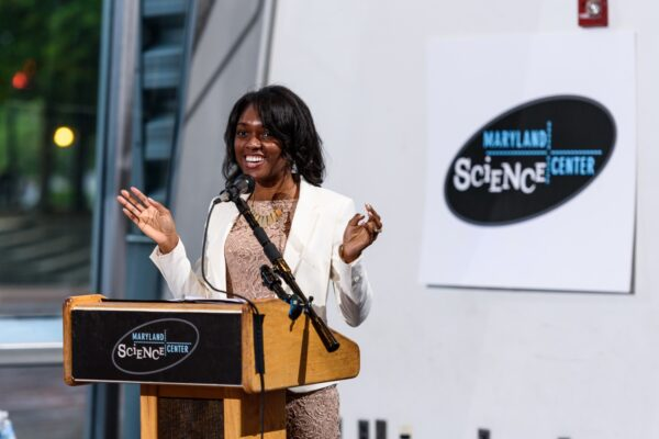 Muyinatu Bell receives Maryland Outstanding Young Engineer