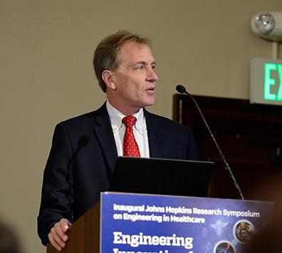Greg Hager at Inaugural Johns Hopkins Research Symposium