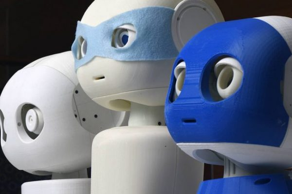 Three companion robots